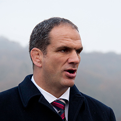 Martin Johnson at